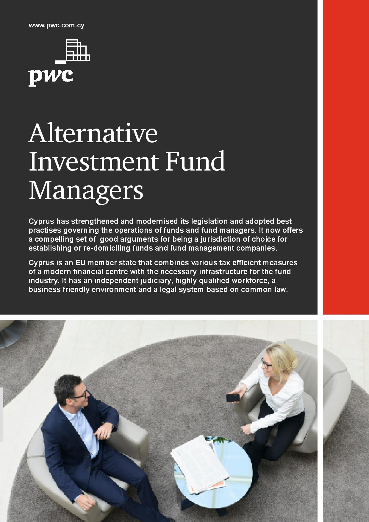 PwC: Alternative Investment Fund Managers